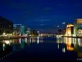 Blaue Stunde im Duisburger Innenhafen