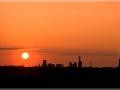 Sonnenuntergang im Duisburger Norden
