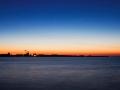 Blaue Stunde im Greifswalder Bodden