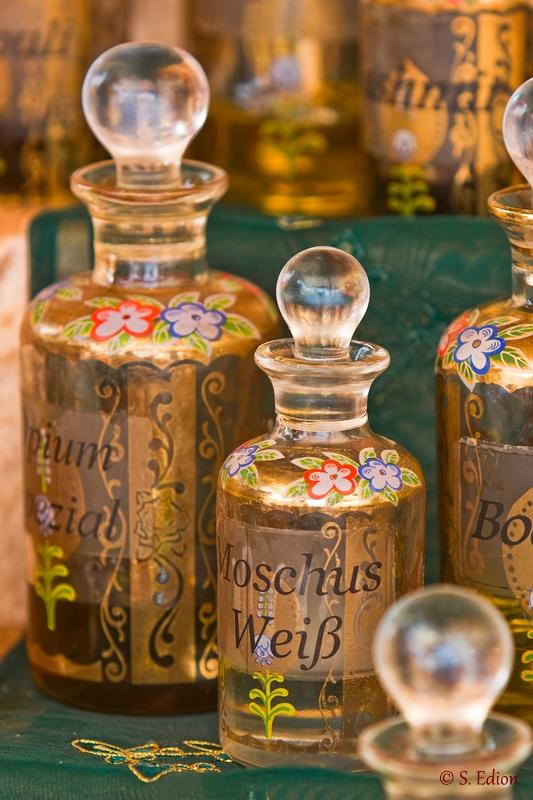 Orientalische Flakons