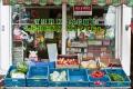 Bunte Lebensmittel-Vielfalt