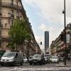 Rue de Rennes und Tour Montparnasse